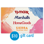 SIERRA TRADING POST<sup>®</sup> $10 Gift Card