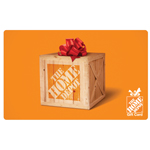 HOME DEPOT<sup>®</sup> $10 Gift Card