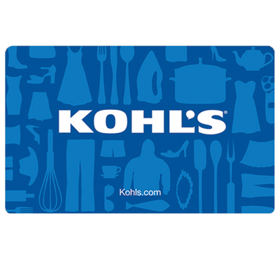 KOHL'S<sup>&reg;</sup> $10 Gift Card - Kohl's department stores are stocked with everything you need for yourself and your home.  Shop for the best merchandise at the best prices.