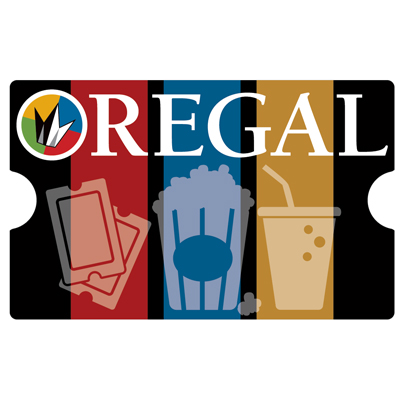 REGAL ENTERTAINMENT GROUP<sup>&reg;</sup> $10 Gift Card - Use this card to go see the latest major motion picture!